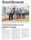 Construction begins on new building in Dieppe July 13 2015 thumb