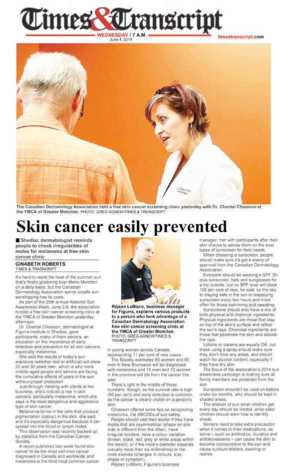 Skin Cancer easily prevented 575x951