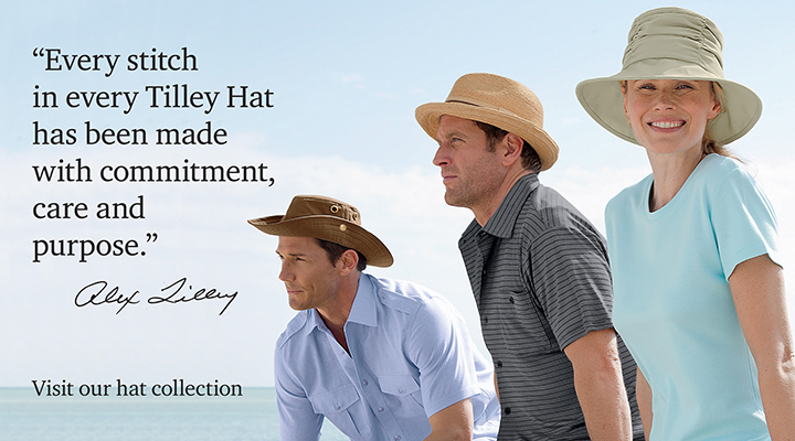tilley hat product group selection